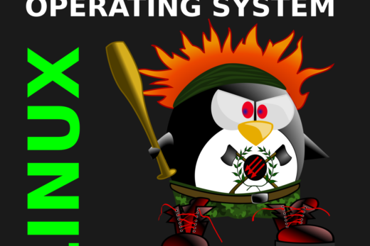 Linux. A mostly peaceful operating system.